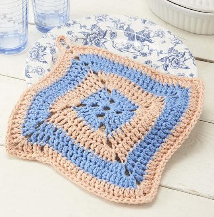 Free Pot Holder Crochet Patterns Online